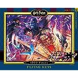 New York Puzzle Company - Harry Potter Flying Keys - 1000 Piece Jigsaw Puzzle