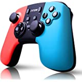 JYSW Pro Wireless Controller Compatible with Switch, Remote Controller Gamepad Supports Gyro Axis & Dual Vibration