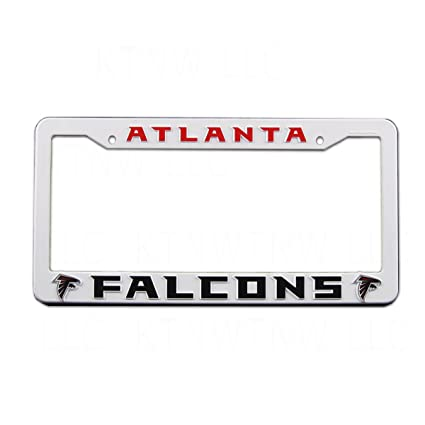 Amazon.com : Rico Industries NFL Plastic License Plate Frame ...