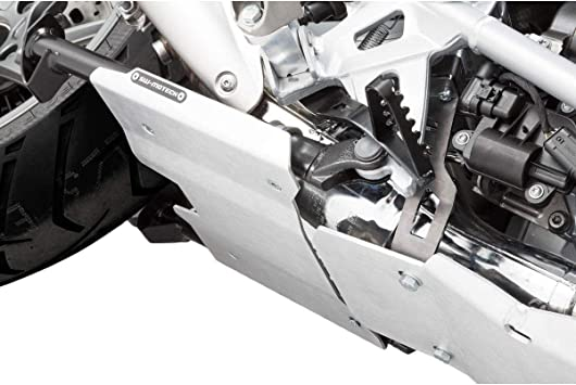 SW-Motech Skid Plate Extension Silver for 13-18 BMW R1200GS