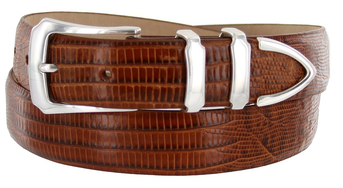 Belts.com ACCESSORY メンズ B00D6WI40W 40|タン(Lizard Tan) タン(Lizard Tan) 40