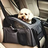 Pettom Pet Car Seat Carrier for Dog Cat,Lookout Booster Seat
