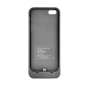 Protector de pantalla externo FLOUREON iPhone 5S Carcasa con ...