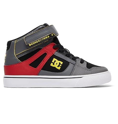 54a23f262e DC Boys' Spartan High SE EV High Top Shoes