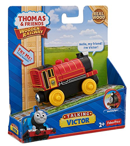 Thomas & Friends Fisher-Price Wooden Railway, Talking Victor - Battery Operated