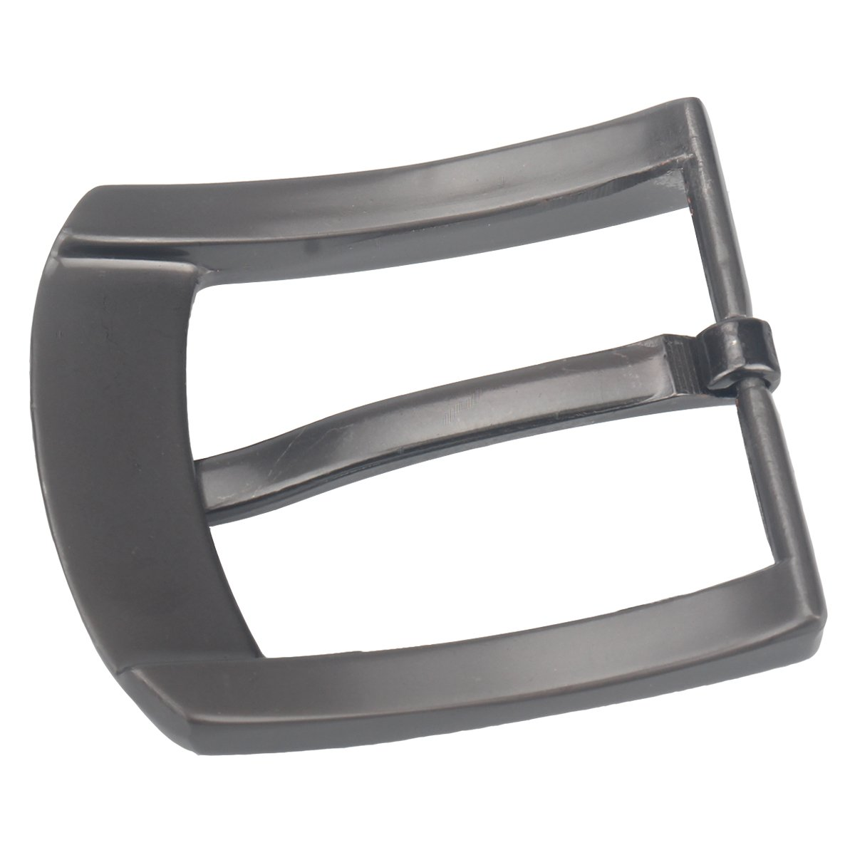 Gray09 Single Prong Square Belt Buckle Replacement Belt Buckle 37-40 mm 1.5