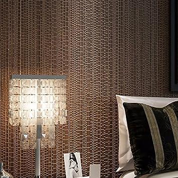 Flachs Non Woven Tapete Plain Modern Minimalist Gemütliches Schlafzimmer  Wohnzimmer 3D Hintergrund Farbe Tapete,