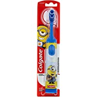 Colgate Kids Minions Battery Powered Toothbrush Extra Soft Bristles 3+ Years