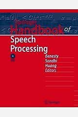 Springer Handbook of Speech Processing (Springer Handbooks) Kindle Edition