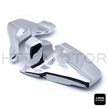Amazon.com: HTTMT- Left Right Chrome Engine Frame Covers For Honda ...