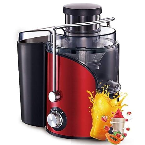 XWH Exprimidor doméstico, separación automática de residuos de Frutas y Verduras, máquina Multifuncional de