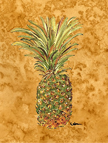 Caroline's Treasures 8654GF Pineapple Flag, Small, Multicolor