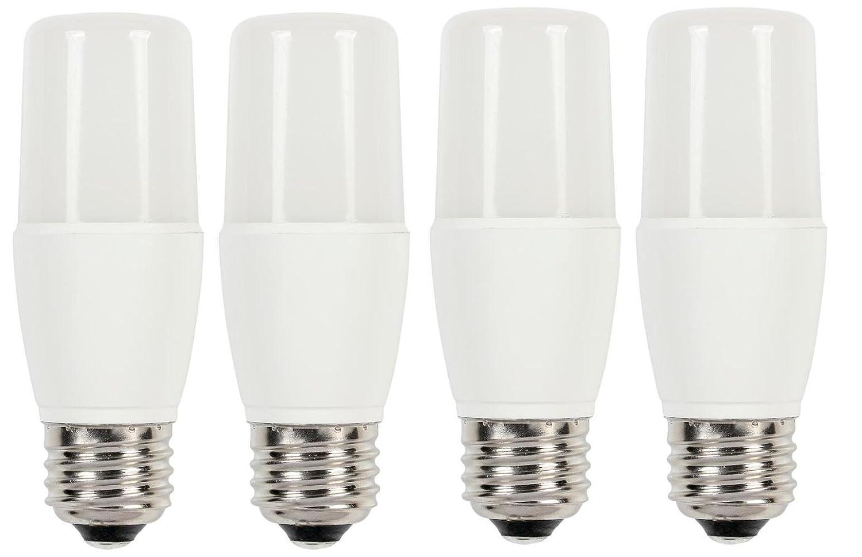 4 Pack 60 Watt Equivalent T7 Bright White Led Light Bulb With