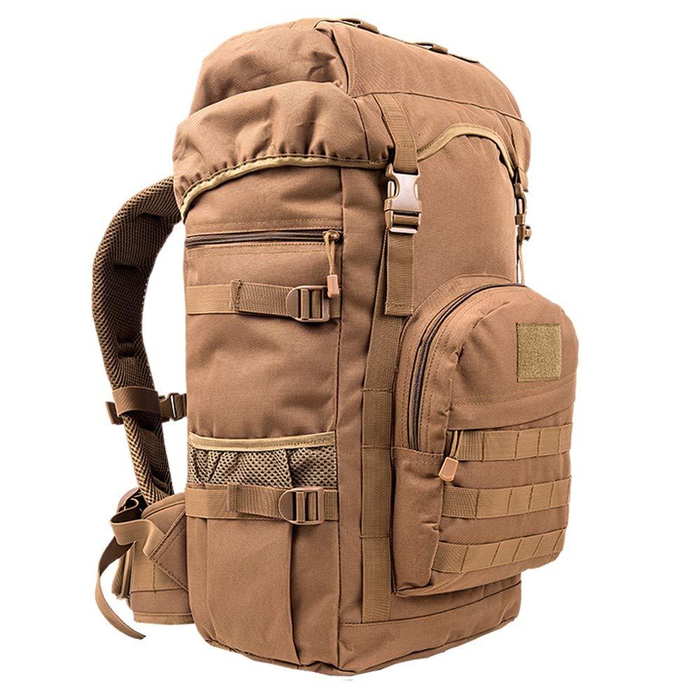 Style H  Shining Sac à Dos d'épaule Camouflage, Sac à Dos Tactique Militaire extérieur 50L, Sac à Dos de Grande capacité pour Le Camping en Montagne