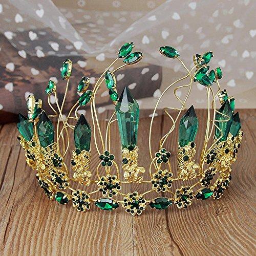 MAFYU Alta Calidad Tiaras Boda Tiara Nupcial Pelo Flor De Corona Cristal Adornos Vestido De Novia Accesorios