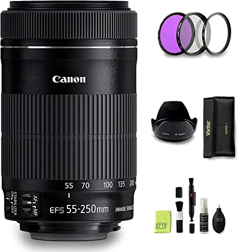 GYTE Bundle | Objetivo Canon - EF-S 55-250 mm f/4-5,6 IS STM ...