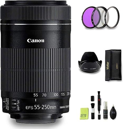 GYTE Bundle | Objetivo Canon - EF-S 55-250 mm f/4-5,6 IS STM ...