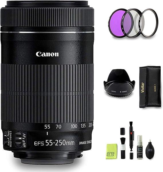 Gyte Bundle Canon Objektiv Ef S 55 250 Mm 1 4 5 6 Kamera