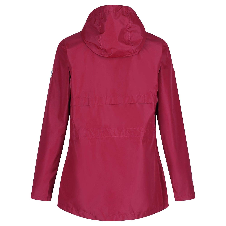Chaqueta Impermeable y Transpirable con Capucha y Forro de tafet/án para Mujer Regatta Bronya