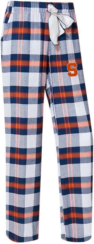Concepts Sport NCAA Womens-Headway Flannel Plaid Pajama Pants Bottoms