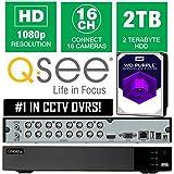 Q-SEE QTH916-2 16 CHANNEL 2TB WD PURPLE SURVEILLANCE DISK