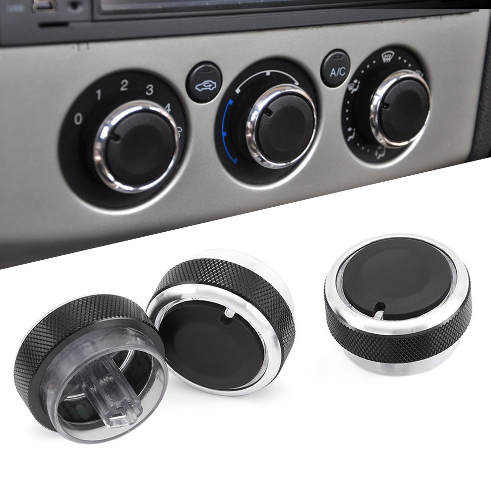 9 MOON Car Air Conditioning Heat Control Switch Ac Knob for Ford Focus MK2 MK3 Mondeo (3PCS/SET)