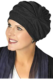 358c8605d8b Headcovers Unlimited Trinity Turban-Caps for Women with Chemo Cancer Hair  Loss