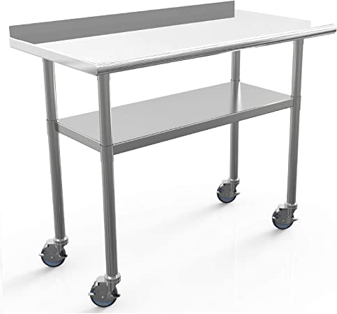 SUNCOOO - Fregadero de mesa y barra de acero inoxidable para ...