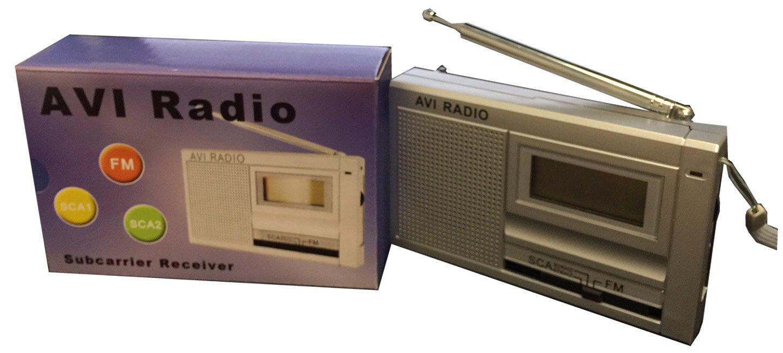 SCA RADIO 67 KHZ- 92 KHZ FULL CHANNEL & FM 87.5 MHZ -108.5 MHZ (MODEL KST-50)