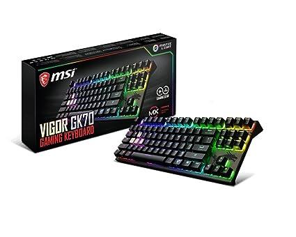 14eafc9e4b9 Amazon.com: MSI Vigor Cherry MX RGB Dedicated Hotkeys Mechanical ...