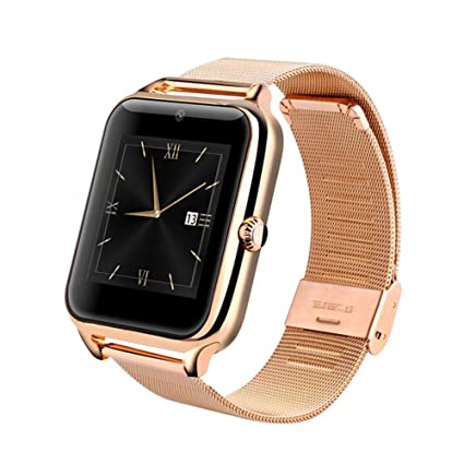 KDSFJIKUYB Fitness Tracker Smart Watch GT08 Plus Correa metálica ...
