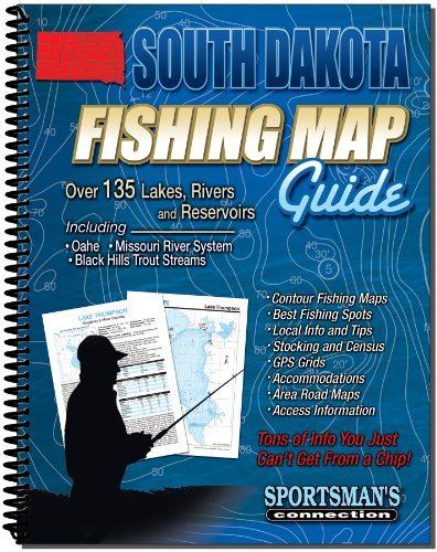 Sportsman's Connection South Dakota Fishing Map Guide - 2011 Edition