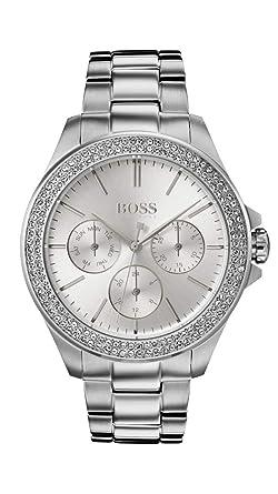 a2b0ad7ac5b Amazon.com: Ladies Hugo Boss Premiere Watch 1502442: Watches