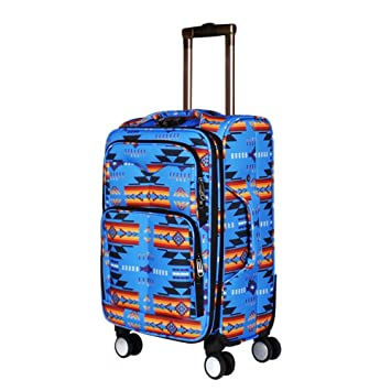 66e1a9b154 Southwest Design (Navajo Print) 21 quot  Carry On Luggage ...