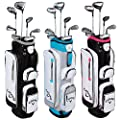 Callaway Womens 2016 Solaire Woods/Irons Sets 2Wds/1Hyb/#7/Pw/Sand Wedge.
