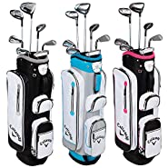 Callaway Womens 2016 Solaire Woods/Irons Sets 2Wds/1Hyb/#7/Pw/Sand Wedge...