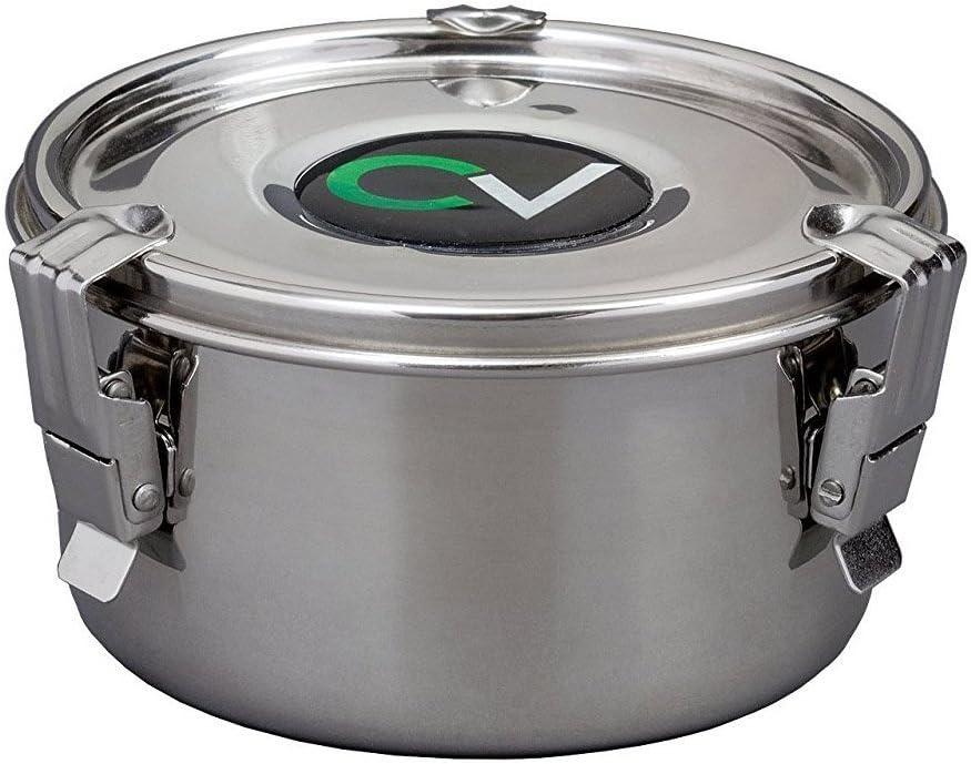 CVault El curado de Humedad contenedor de Almacenamiento Large Plata