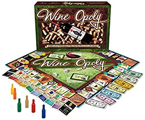 Wine-Opoly Monopoly Board Game from Late for the Sky