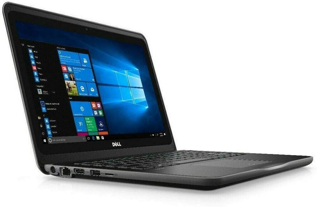 """Dell Latitude 3000 3300 13.3"""" Notebook - 1366 X 768 - Core i3 i3-7020U - 4 GB RAM - 128 GB SSD - Black (Renewed)"""