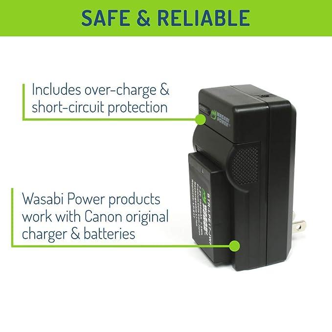 Wasabi Power Batería y cargador para Canon LP-E17: Amazon.es ...