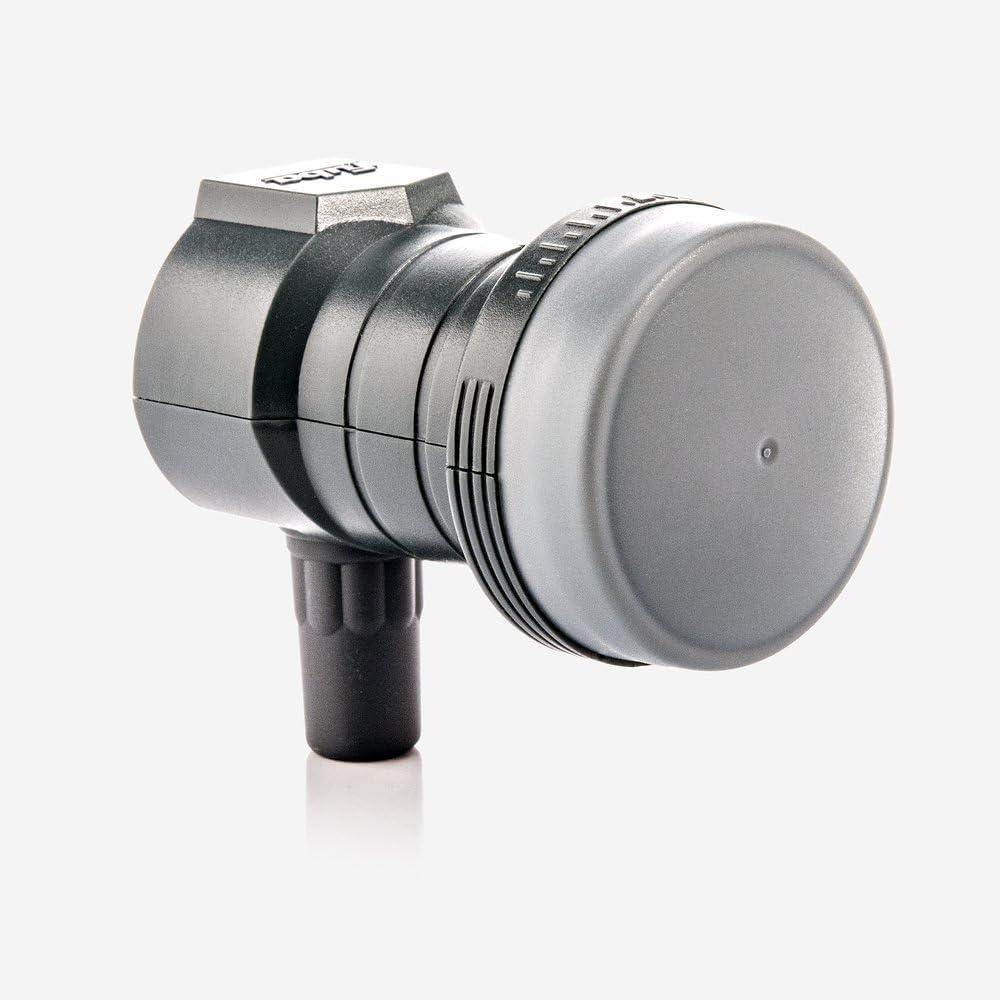 Fuba DEK 117 Single LNB - LNB Universal Individual para 1 usuarios con óptima protección de telefonía móvil, con Funda Protectora contra la Intemperie ...