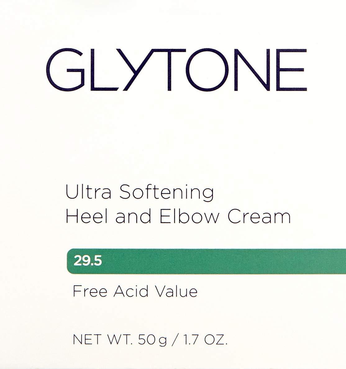 Glytone Ultra Softening Heel and Elbow Cream with Glycolic Acid Glycerin, Exfoliate, Retexturize, Moisturize, Fragrance-Free, 1.7 oz.