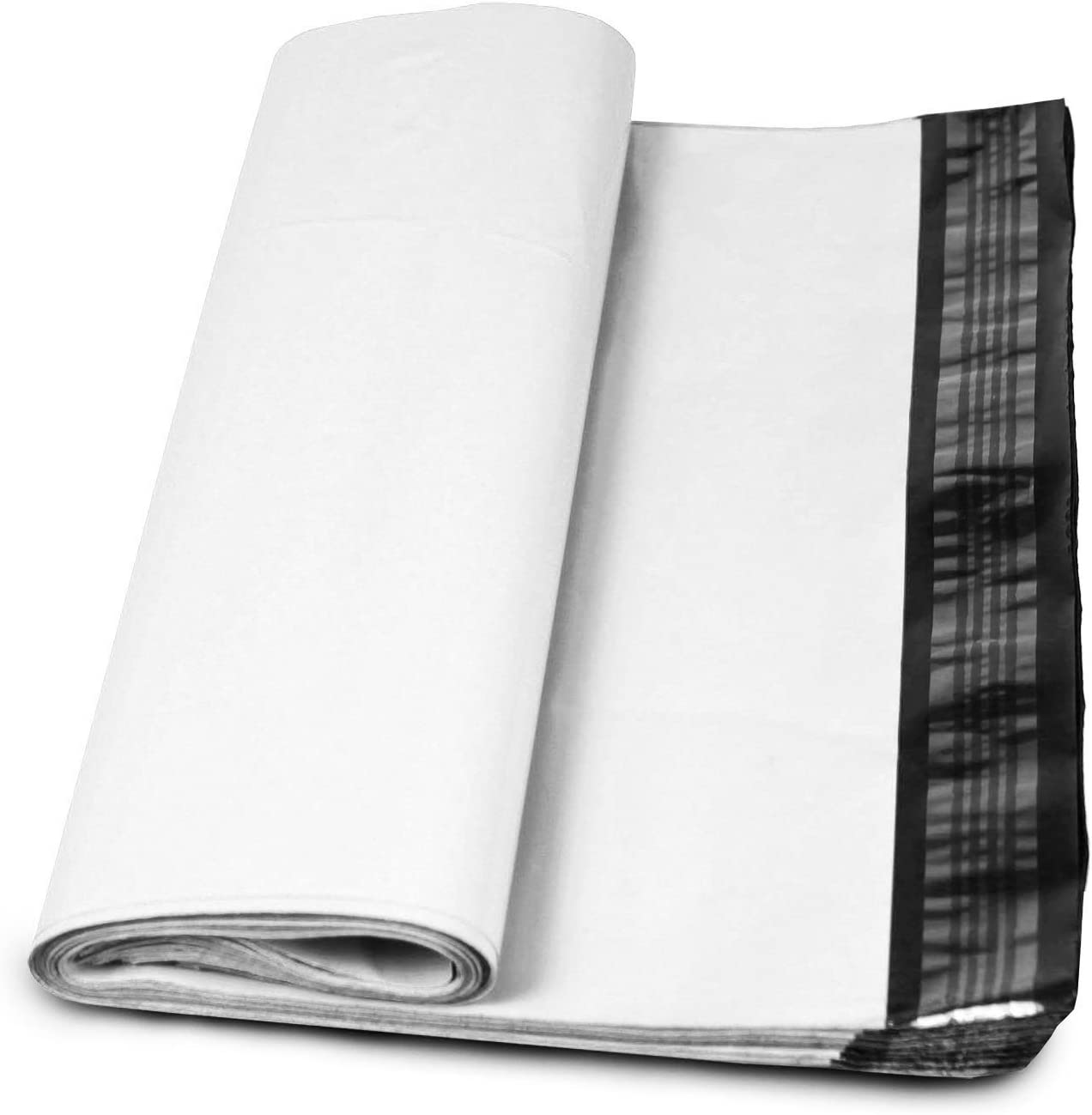 """50 White Poly Mailers Plastic Envelopes Shipping Bags Packing Supplies 19x24/"""""""