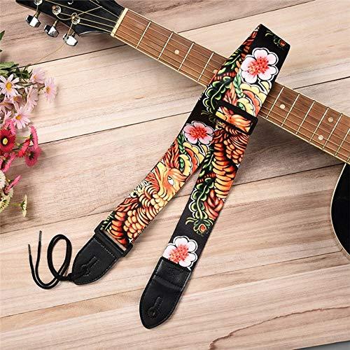 Sala-Fnt – 11 tipos de correas de guitarra eléctrica coloridas con ...