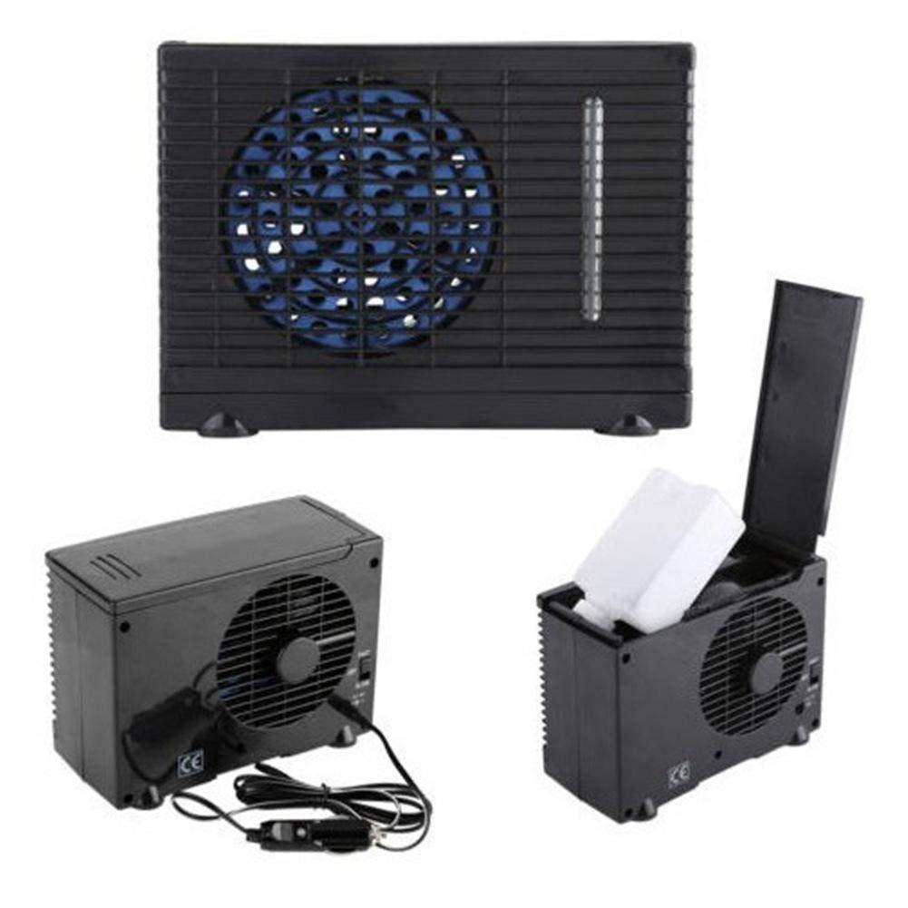 D.ragon Portable Air Cooler Mini Mobile Klimaanlage Luftk/ühler Und Niedriggang-Mehrzweck-Windl/üfter Car Fan Air Cooler 12V Autol/üfter Luftk/ühler Fluorfreier Hoch
