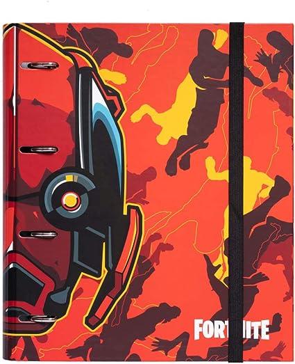 Erik/® 26X32 cm Raccoglitore ad Anelli A4 copertina rigida Studio Pets Cats chiusura elastica