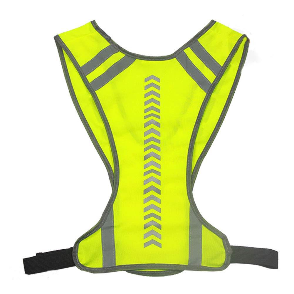 gofar Unisex Safety Vest Reflective Warning Night Running Cycling High Visibility Jacket