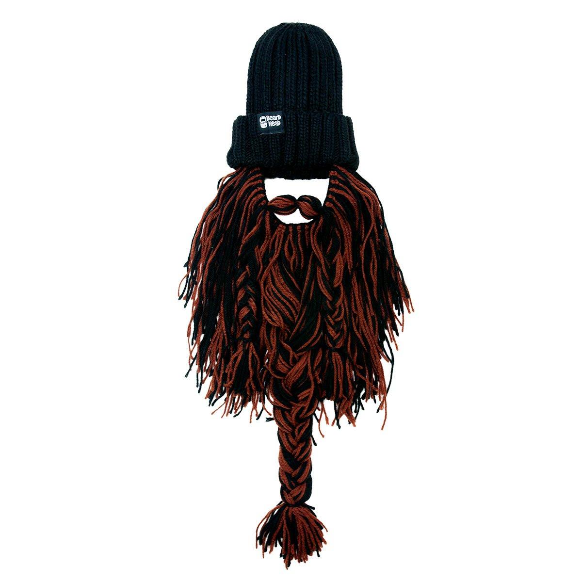 Beard Beard Beard Head Bartmütze – Barbar Rocker – Lustige Strickmütze und falscher Bart Gesichtsmaske B01BMS8GEU Strickmützen Neue Sorten werden eingeführt a81bb6