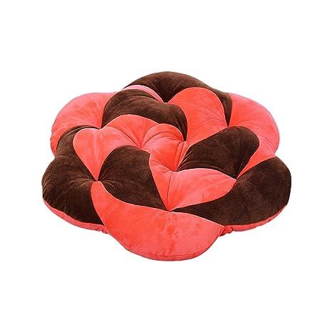 Zhi Jin suave rosa asiento cojín de ratón flores de suelo de ...