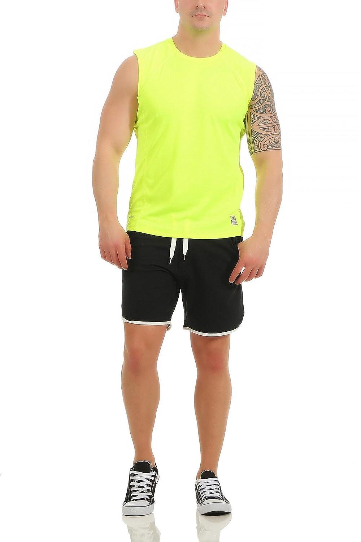 f8601deb2ab3bf Mivaro Herren Shirt Ohne Arme - Tank-Top - Muscle Shirt - Muskelshirt -  Achselshirt - Funktionsshirt  Amazon.de  Bekleidung